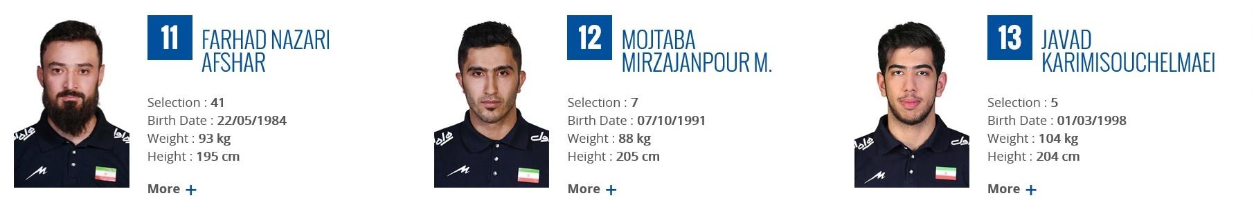 バレーボール男子イラン代表2017