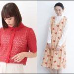 広瀬すずanone第9回衣装/赤カーディガン(ブラウス)と花柄ワンピ―ス通販!